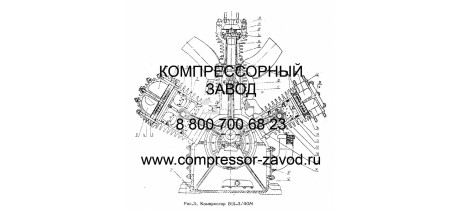 Компрессор ВШ-3/40